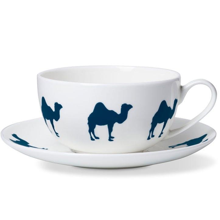 Camel Breakfast Cup & Saucer