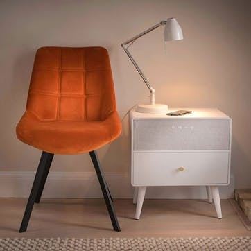 Ralph Smart Side Table, White