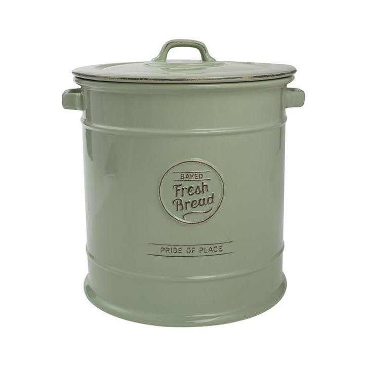 Pride of Place Bread Crock, Old Green