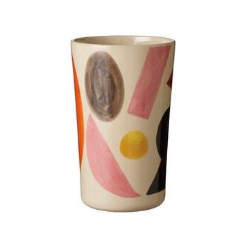 Clachan Abstract Vase H21cm, Multi Colour