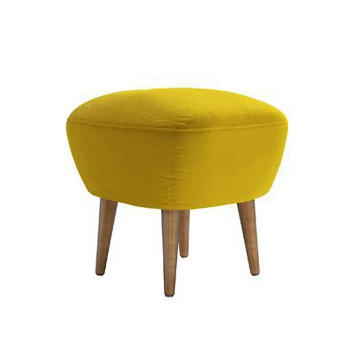 The Percy, Canary Pure Cotton Matt Velvet