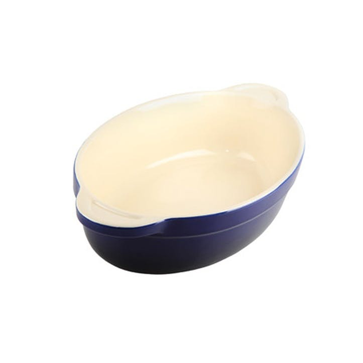 Imperial Blue Medium Oval Dish, 26cm