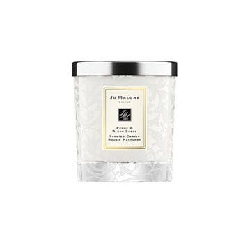 Bridal Home Candle, Peony & Blush Suede
