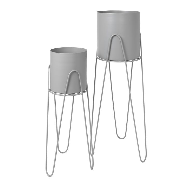Set of 2 Standing Planters, Drizzle