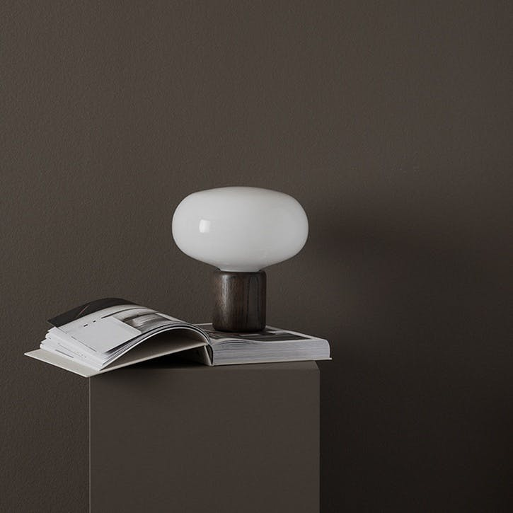 Karl-Johan, Table Lamp, D23cm, Opal Glass