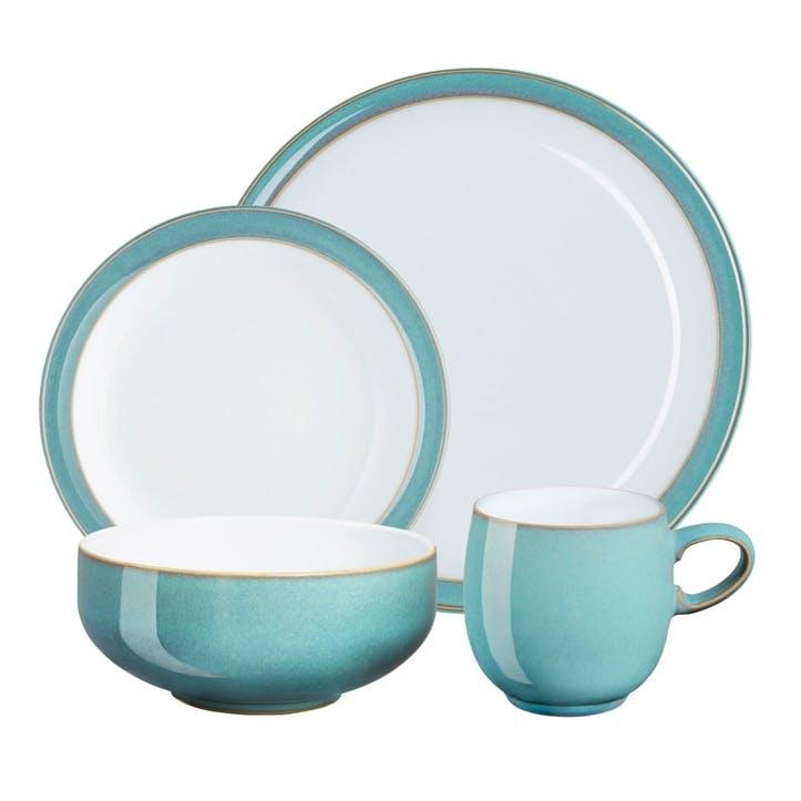 Azure 16 Piece Dinnerware Set