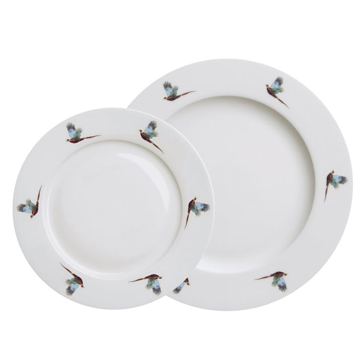 'Pheasant' Flying Dinner Plate