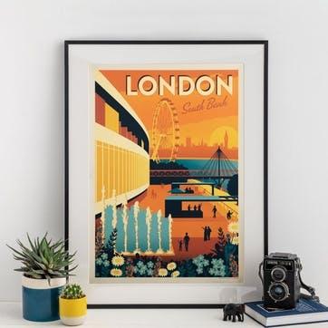 London South Bank Print