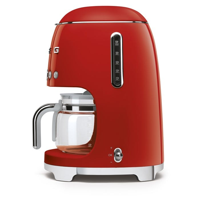 Drip Coffee Machine; Red