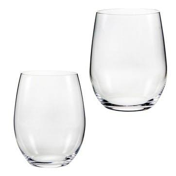 """""""O"""" Riesling/Sauvignon Blanc, Set of 2"""