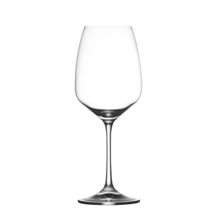 Osmo Red Wine Glass, Set of 6, Clear