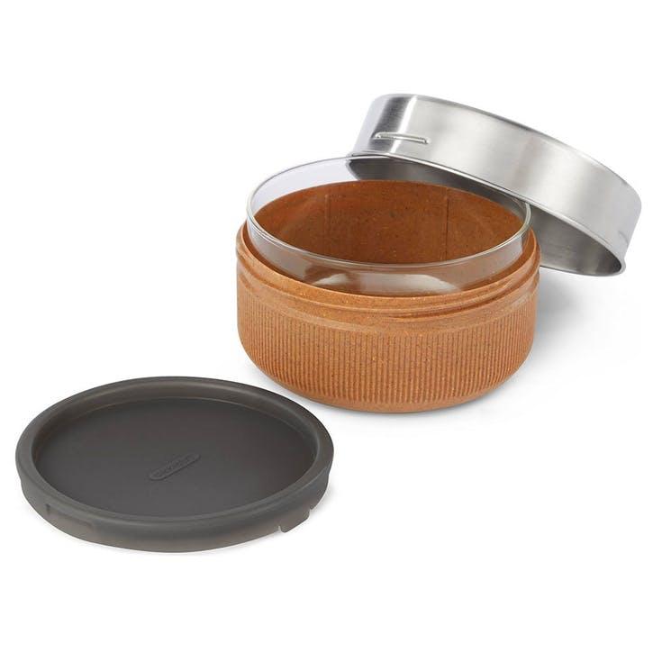 Glass Lunch Bowl, 750ml, Almond