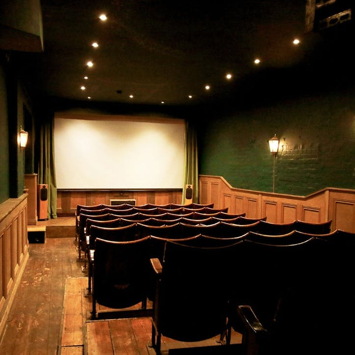 Hidden Vintage Cinema Experience with Cocktail for Two