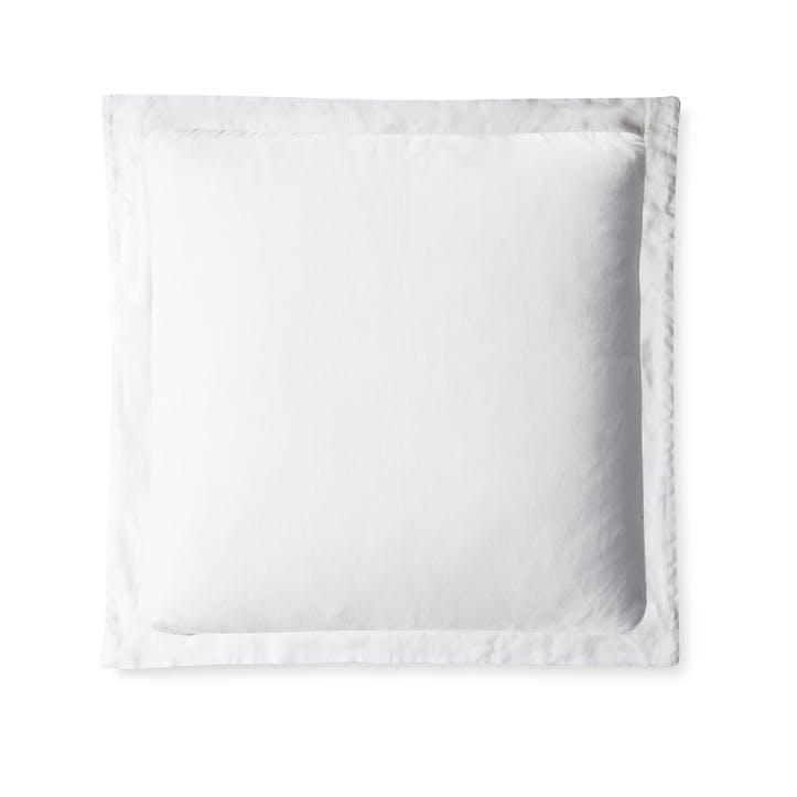 Classic Oxford Square Pillowcase, Single, White