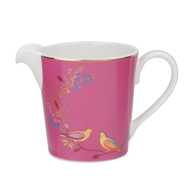 Chelsea Collection Cream Jug; Pink