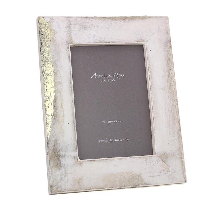 "Mango Wood Bone Photo Frame - 5"" x 7"""
