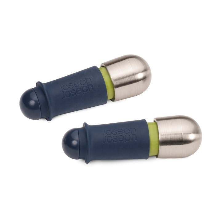 BarWise Twist-Lock Wine Stoppers, Set of 2