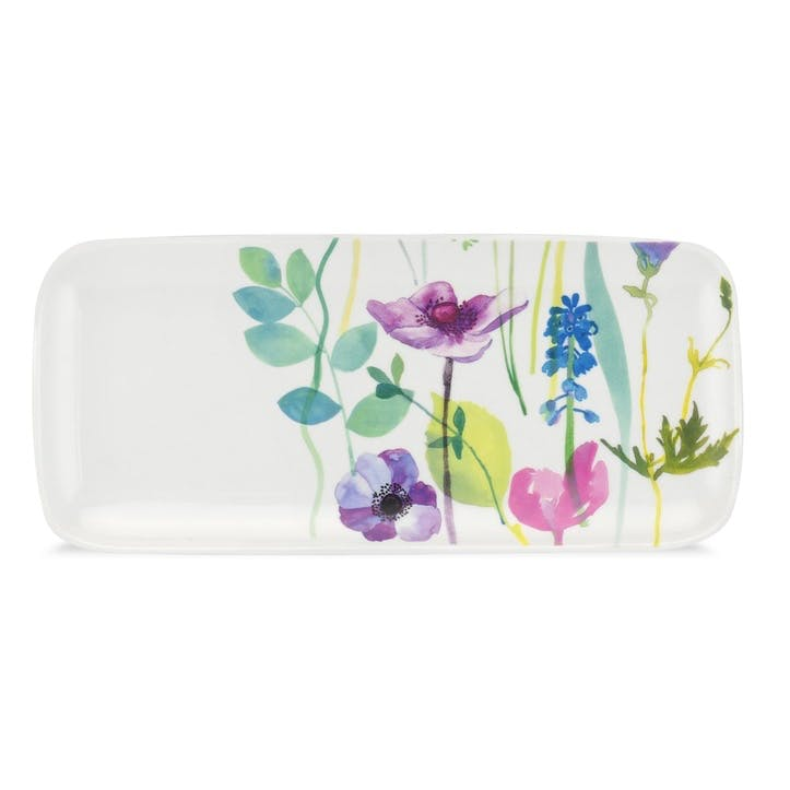 Water Garden Sandwich Tray