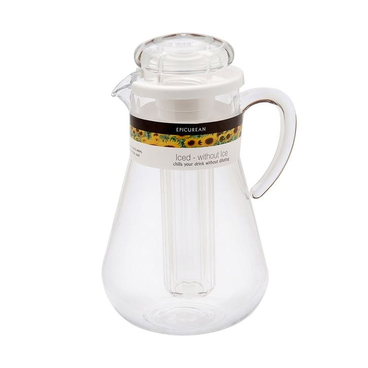 Acrylic Jug With Ice Compartment, 2L
