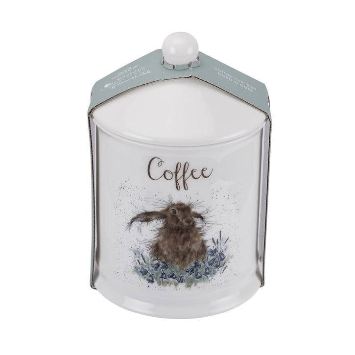Wrendale Coffee Canister; Hare