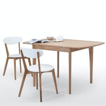 Monty Extending Dining Table; Oak