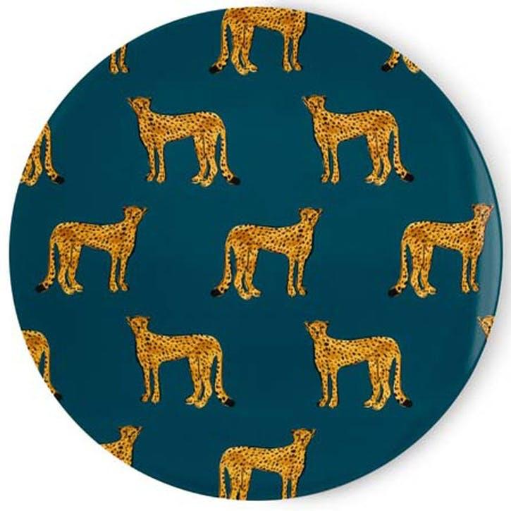 Cheetah Serving Platter