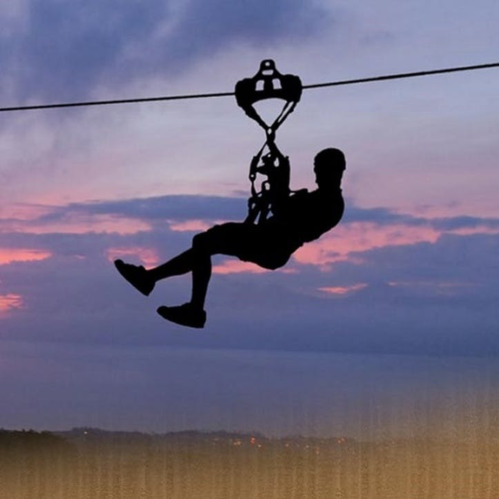 Honeymoon Zip-Lining Experience