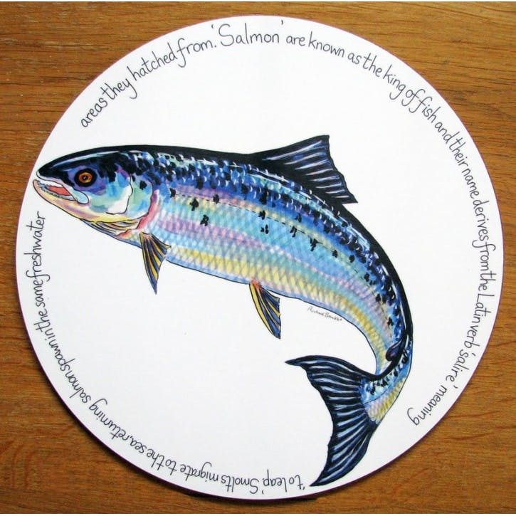 Salmon Tablemat - 28cm