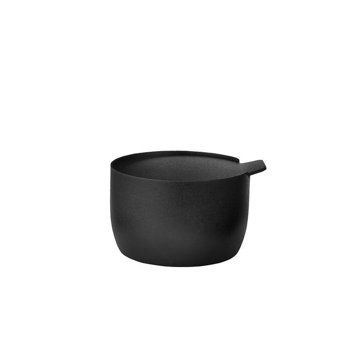 Collar Sugar bowl, Black