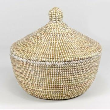 Small Ali Baba Basket, Natural