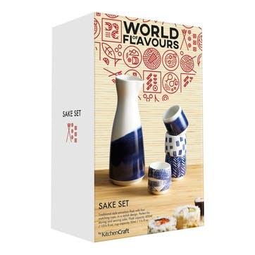 World of Flavours Oriental Sake Set