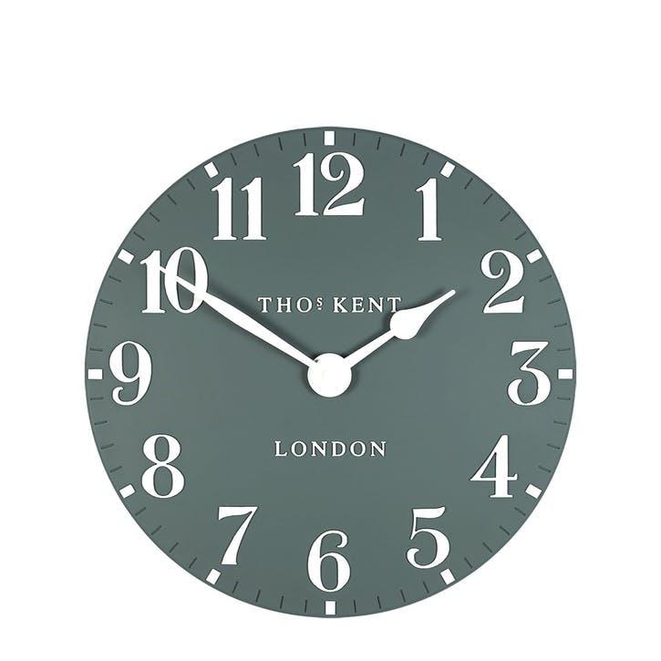 Arabic Clock, 30cm, Teal