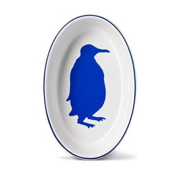 Penguin Oval Oven Dish