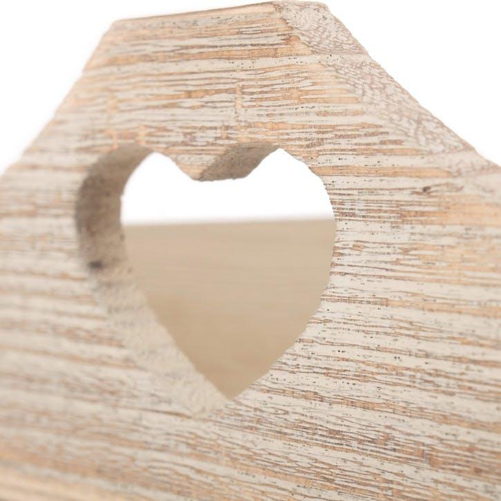 Large Shallow Heart Tray