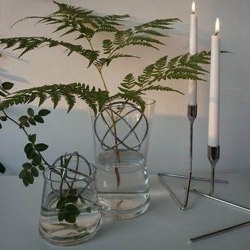 Sphere Vase Medium, Stainless Steel