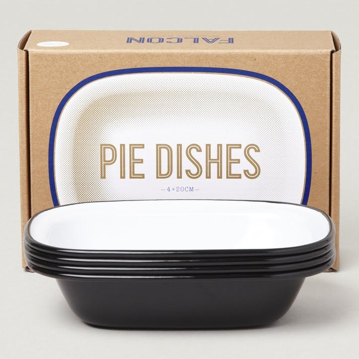 Pie Dishes, Coal Black