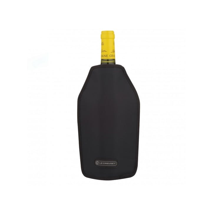 Wine Cooler Sleeve; Satin Black