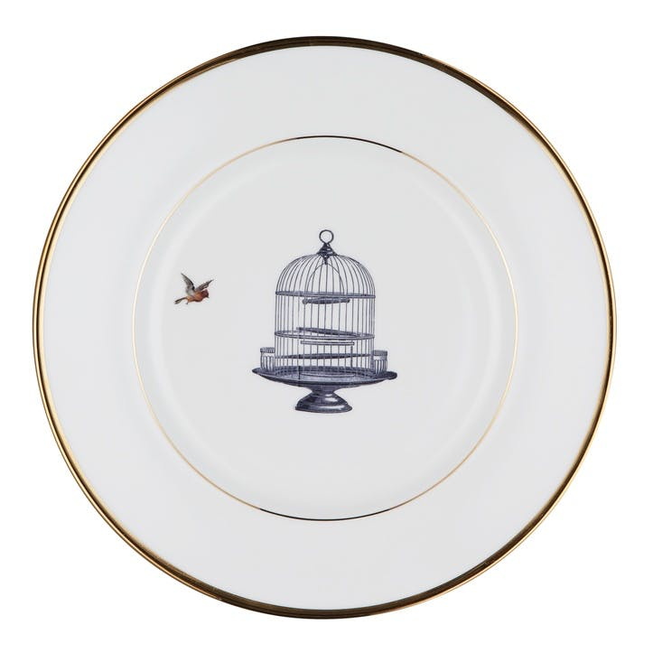 Urban Nature Birdcage and Bird Salad Plate