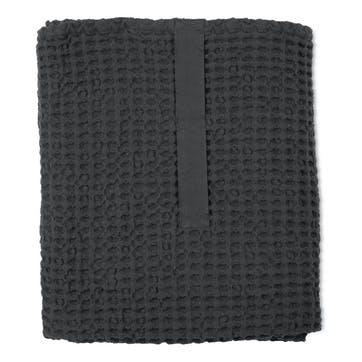 Waffle Towel And Blanket, L150 x W100cm, Dark Grey