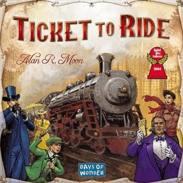 Ticket to Ride America Edition Board Game