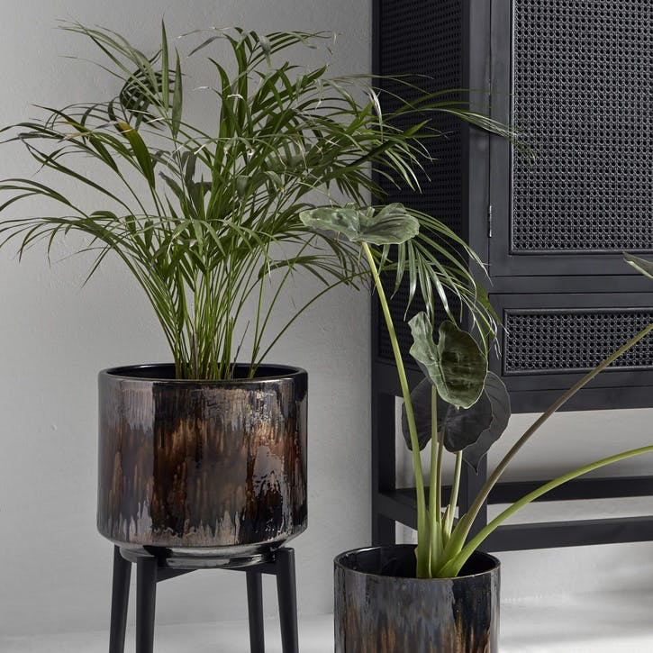 Dark Ombre Standing Planter