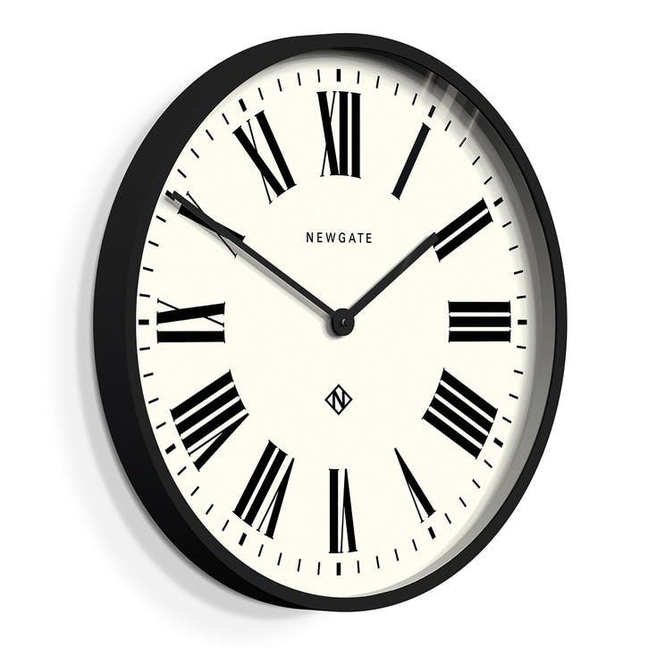 Italian Clock, D53cm, Black