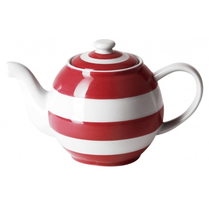 Large Betty Teapot, 49oz/140cl, Red