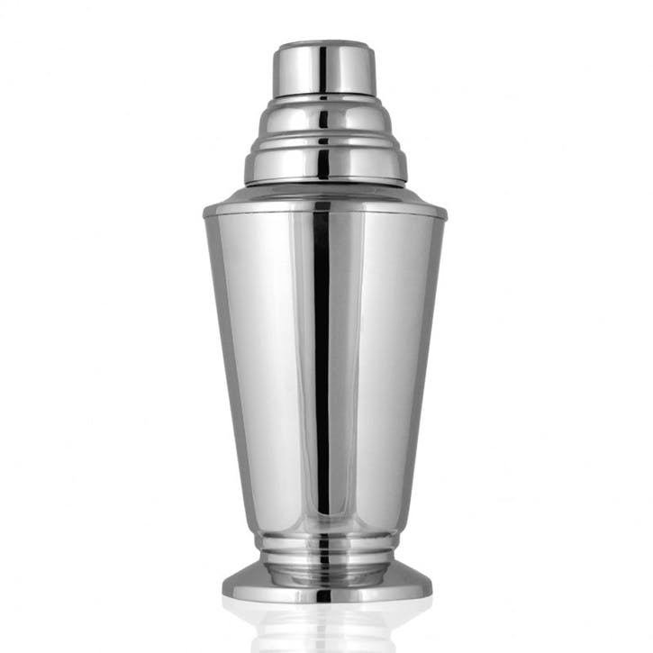 Nickel Plated Cocktail Shaker
