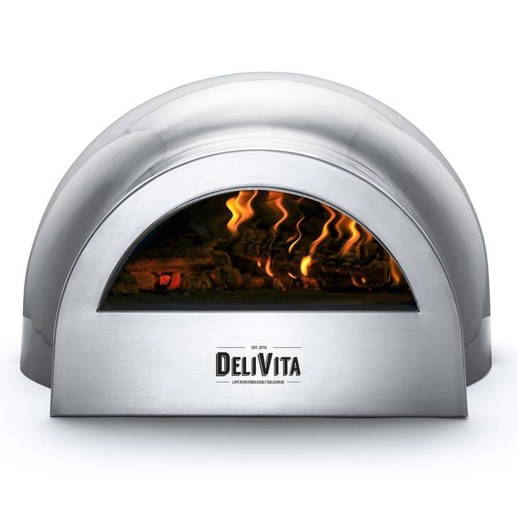 Delivita Outdoor Oven; Hale Grey