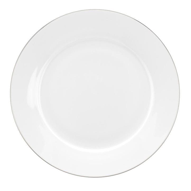 Serendipity Side Plate, Set of 4; Platinum