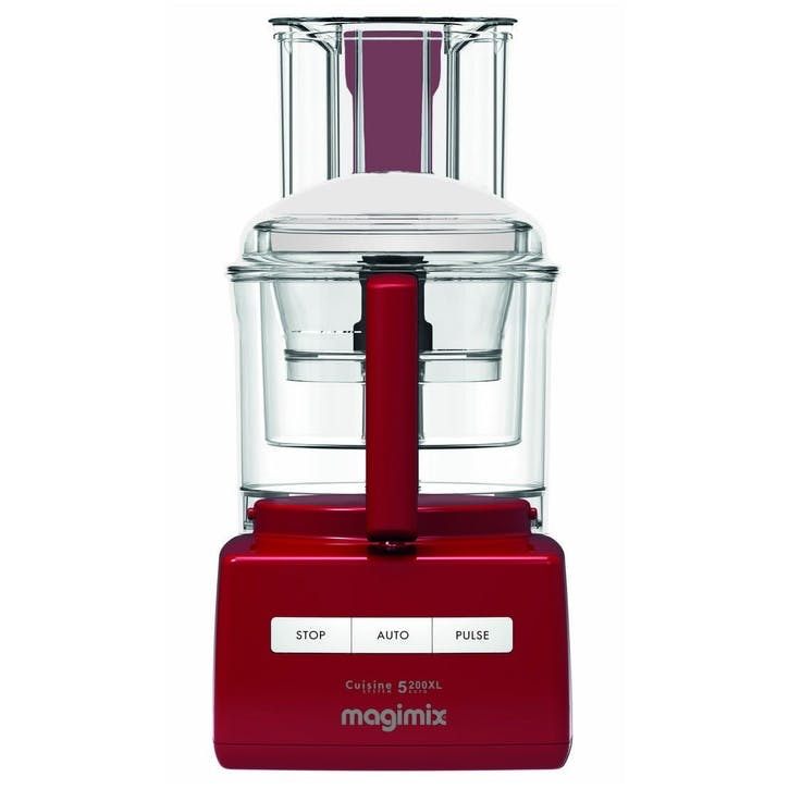 CS 5200XL Premium Food Processor; Red