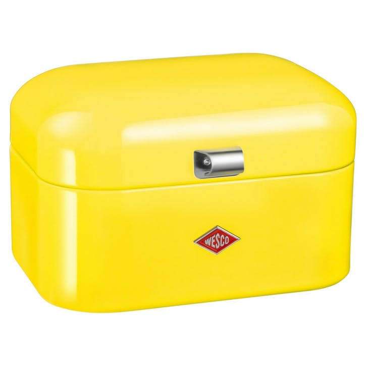 Single Grandy Bread Bin, Lemon Yellow