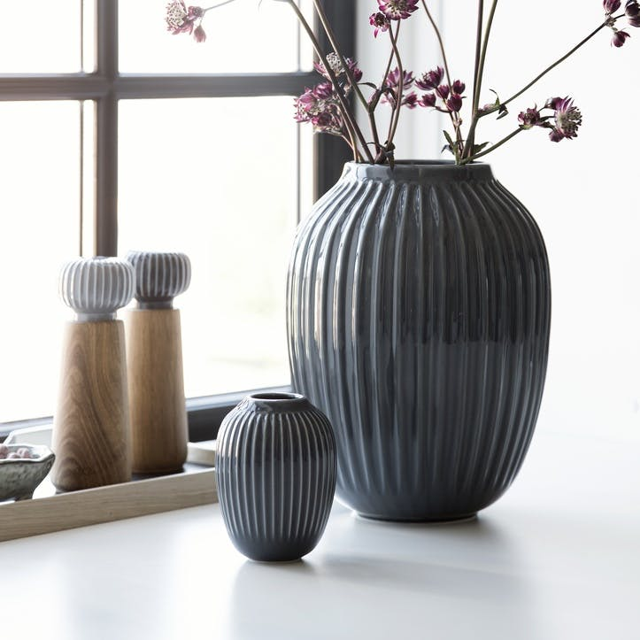 Hammershøi Vase, Mini, Anthracite