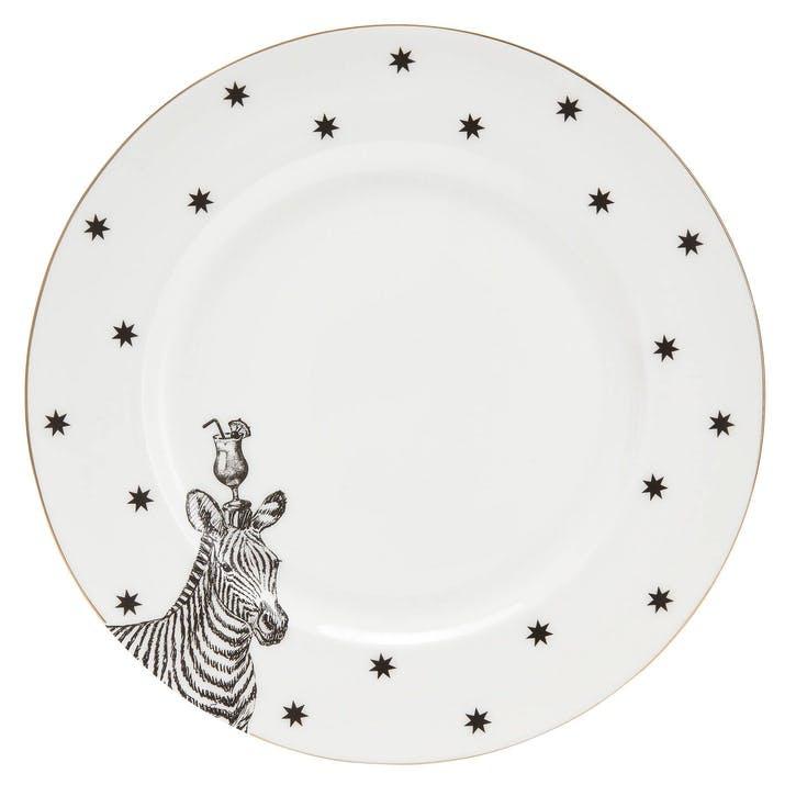 Party Zebra Dinner Plate